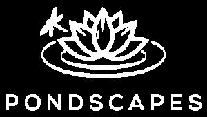 Pondscapes Logo White